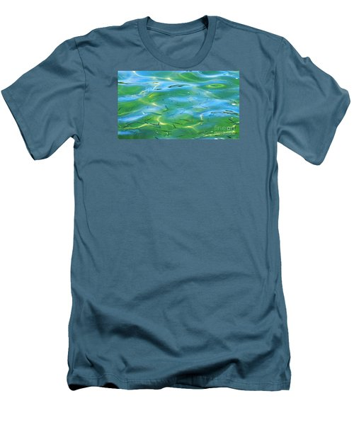 Little Fish Men's T-Shirt (Slim Fit) by Scott Cameron