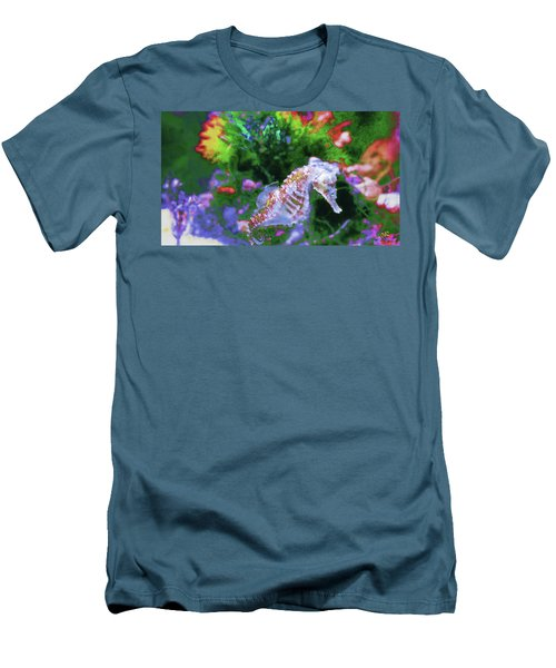 Little Sea Horse Men's T-Shirt (Athletic Fit)