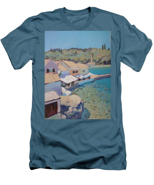 Loggos Pier View Men's T-Shirt (Athletic Fit)