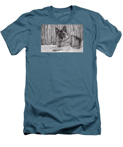 Loki By Fence Men's T-Shirt (Athletic Fit)