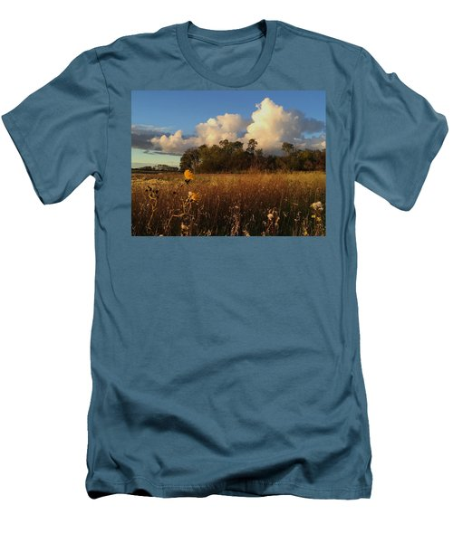 Lone Flower Men's T-Shirt (Athletic Fit)