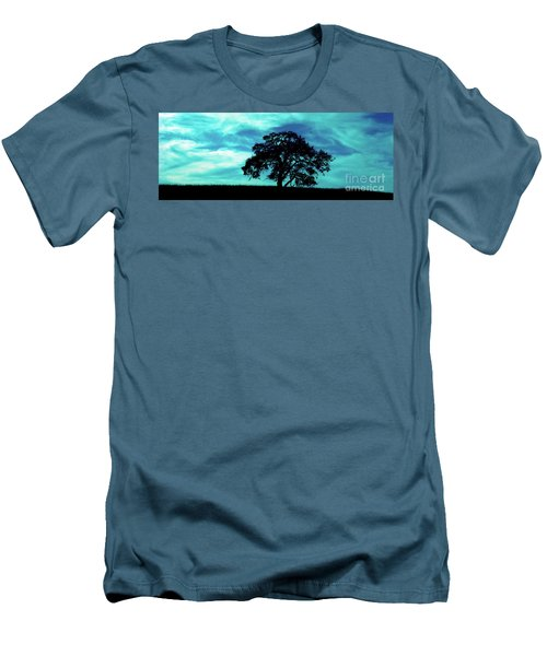 Men's T-Shirt (Slim Fit) featuring the photograph Lone Oak by Jim and Emily Bush