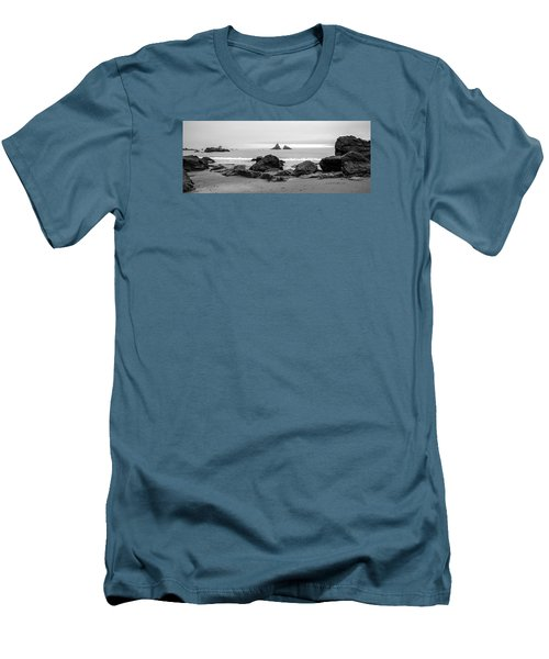 Lone Ranch Beach Men's T-Shirt (Athletic Fit)