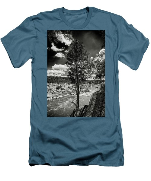 Lone Tree Men's T-Shirt (Slim Fit) by Paul Seymour
