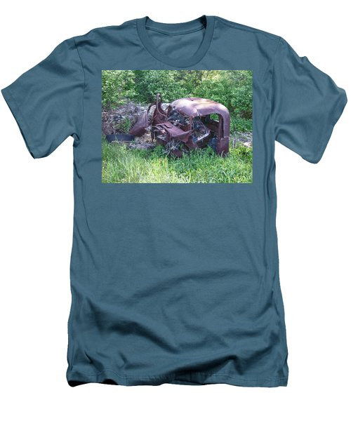 Men's T-Shirt (Slim Fit) featuring the photograph Long Forgotten 2808 by Guy Whiteley