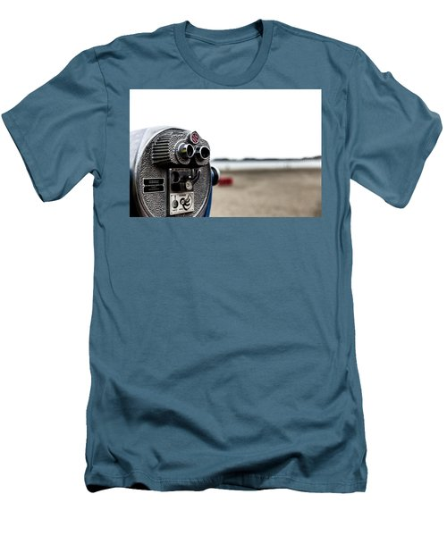 Men's T-Shirt (Athletic Fit) featuring the photograph Look  by Lora Lee Chapman