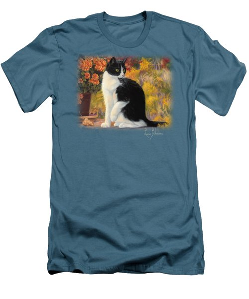 Looking Afar Men's T-Shirt (Slim Fit) by Lucie Bilodeau