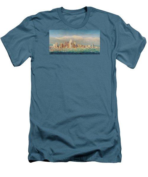 Los Angeles Sunset Men's T-Shirt (Athletic Fit)