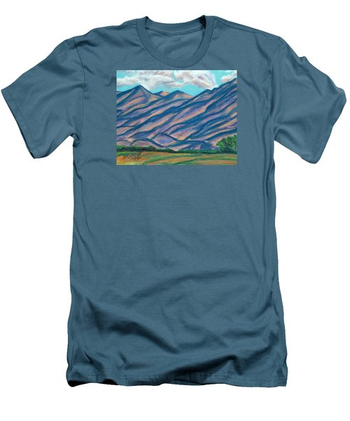 Los Lunas Hills Men's T-Shirt (Athletic Fit)