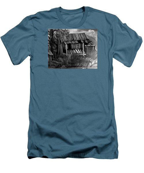 Lost Home Men's T-Shirt (Slim Fit) by Mildred Chatman