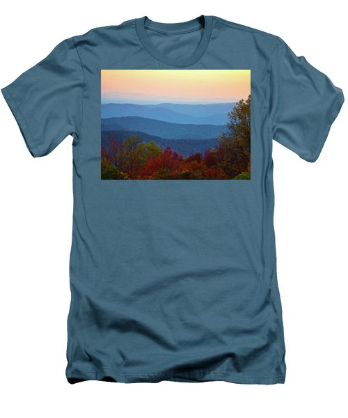 Men's T-Shirt (Slim Fit) featuring the photograph Lost On The Blueridge by B Wayne Mullins