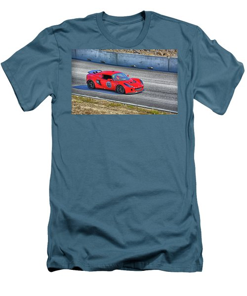 Lotus 87 Northeast Track Days Men's T-Shirt (Slim Fit) by Mike Martin