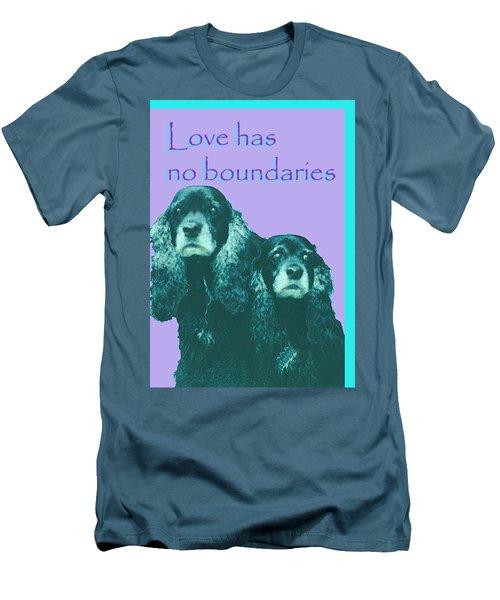 Love Had No Boundaries Men's T-Shirt (Athletic Fit)