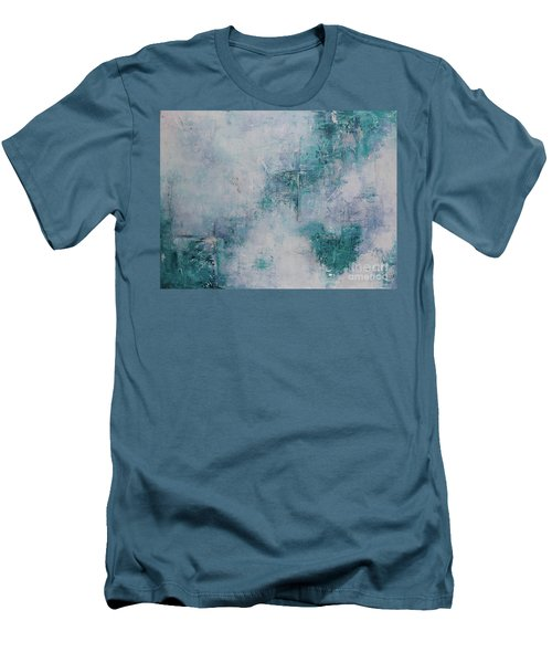 Love In Negative Spaces Men's T-Shirt (Athletic Fit)