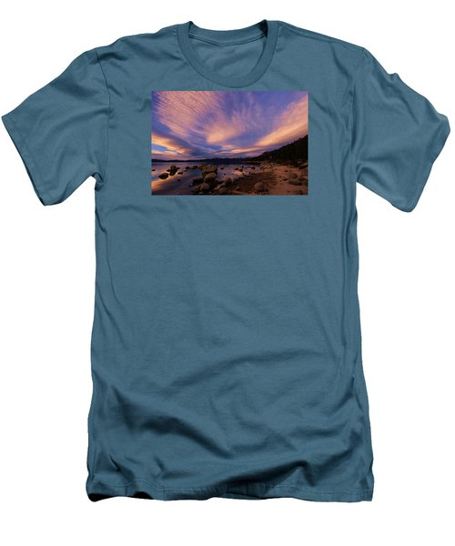 Love Is A Rocky Road Men's T-Shirt (Slim Fit) by Sean Sarsfield