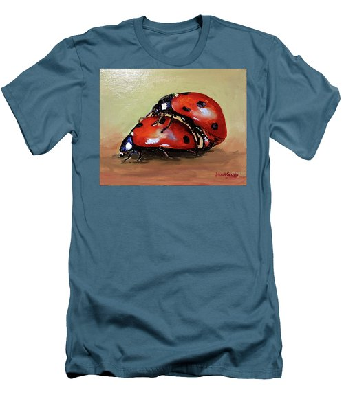 Love Men's T-Shirt (Slim Fit) by Janet Garcia