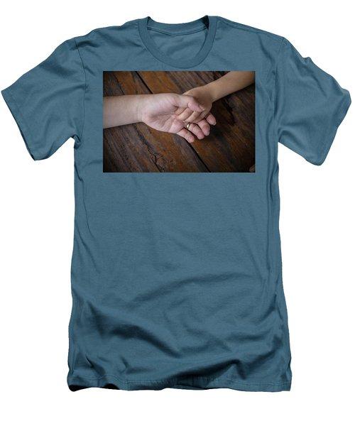 Love Keep Us Alive Men's T-Shirt (Slim Fit) by Jingjits Photography