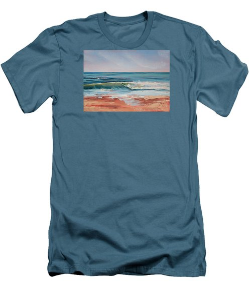 Love The Surf Men's T-Shirt (Slim Fit) by Trina Teele