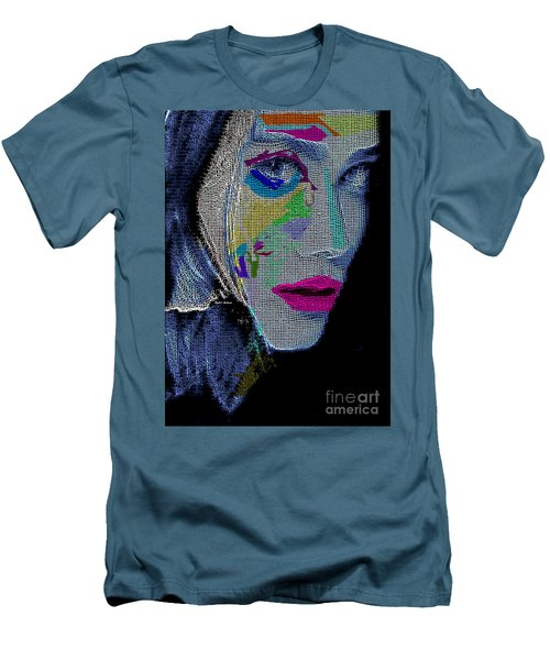 Men's T-Shirt (Athletic Fit) featuring the digital art Love The Way You Look by Rafael Salazar