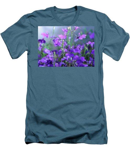 Lovely Lobelia Men's T-Shirt (Athletic Fit)