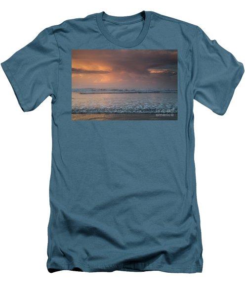 Low Tide  Men's T-Shirt (Slim Fit) by Iris Greenwell