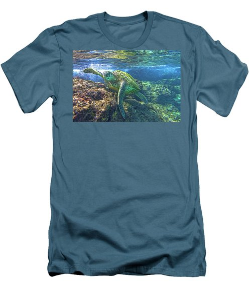 Lunch Time Men's T-Shirt (Slim Fit) by James Roemmling