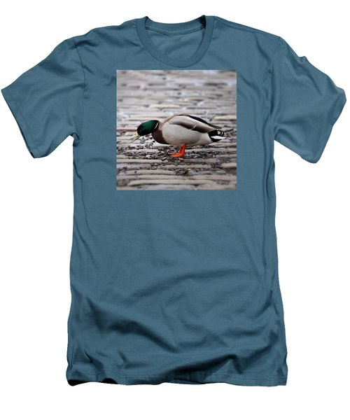 Men's T-Shirt (Slim Fit) featuring the photograph Lunch Time by Jeremy Lavender Photography