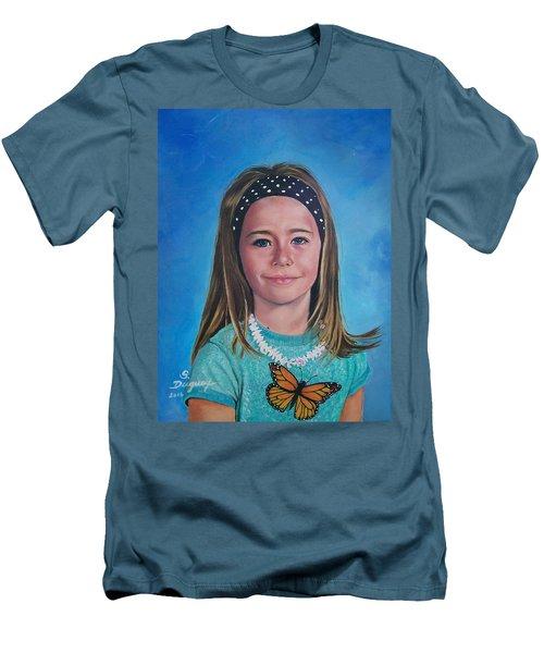 Madeline Men's T-Shirt (Slim Fit) by Sharon Duguay
