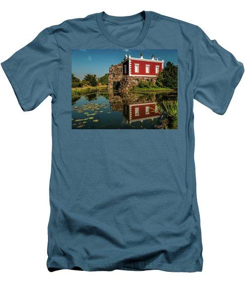 Magic Rock Men's T-Shirt (Slim Fit) by Martina Thompson