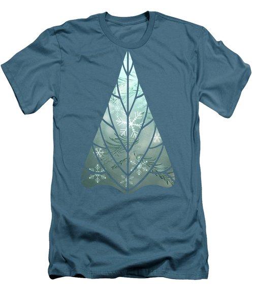 Magical Snow Men's T-Shirt (Slim Fit) by AugenWerk Susann Serfezi