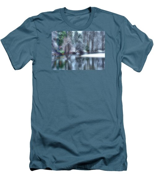 Magical Touch To Yosemite Men's T-Shirt (Slim Fit) by Josephine Buschman