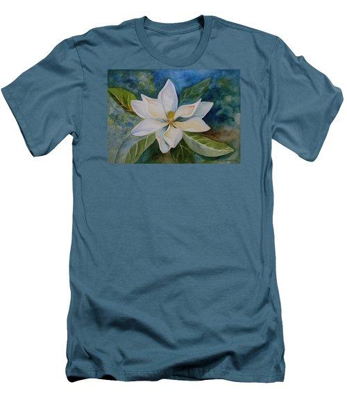 Magnolia Men's T-Shirt (Slim Fit) by Kerri Ligatich