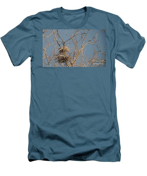 Men's T-Shirt (Slim Fit) featuring the photograph Making Babies by David Bearden