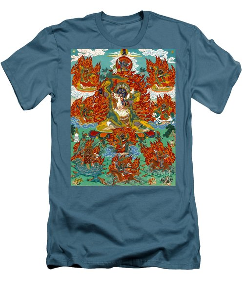 Maning Mahakala With Retinue Men's T-Shirt (Athletic Fit)