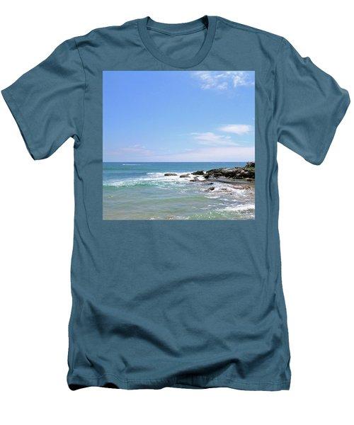 Manly Beach No. 267 Men's T-Shirt (Athletic Fit)