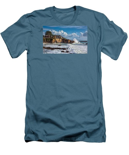 Mansion On The Cliffs Men's T-Shirt (Athletic Fit)