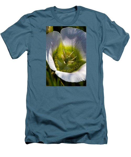 Mariposa Lily Men's T-Shirt (Slim Fit) by Alana Thrower