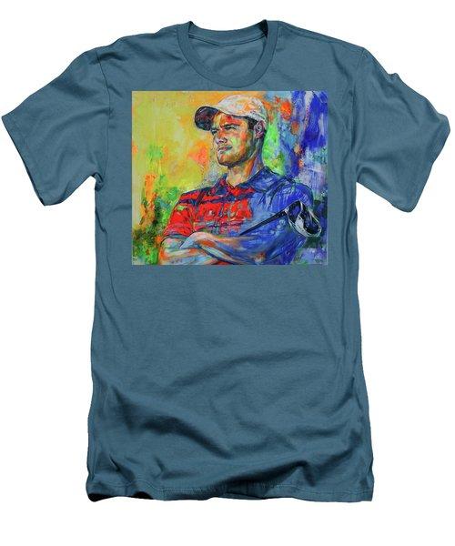 Martin Kaymer Men's T-Shirt (Slim Fit) by Koro Arandia