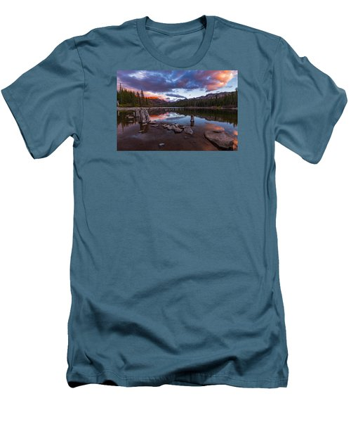 Mary's Reflection Men's T-Shirt (Slim Fit) by Tassanee Angiolillo