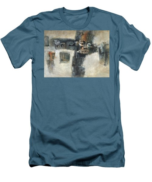 Frozen Men's T-Shirt (Slim Fit) by Behzad Sohrabi