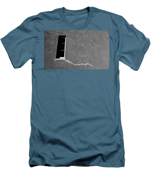 Men's T-Shirt (Slim Fit) featuring the photograph Masonic Window by CML Brown