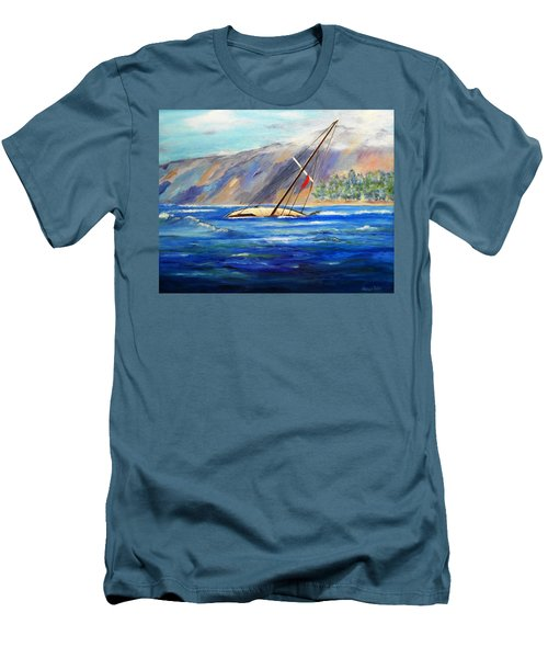 Maui Boat Men's T-Shirt (Athletic Fit)