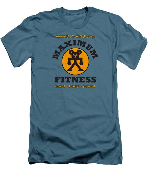 Max Round Men's T-Shirt (Athletic Fit)