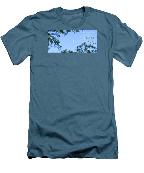 Men's T-Shirt (Slim Fit) featuring the photograph Maximize by David Norman