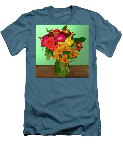 May Flowers Men's T-Shirt (Slim Fit)