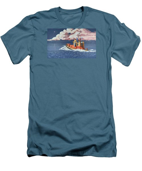 Mayday- I Require A Tug Men's T-Shirt (Athletic Fit)