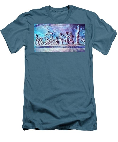 Maypole Dance  Men's T-Shirt (Athletic Fit)
