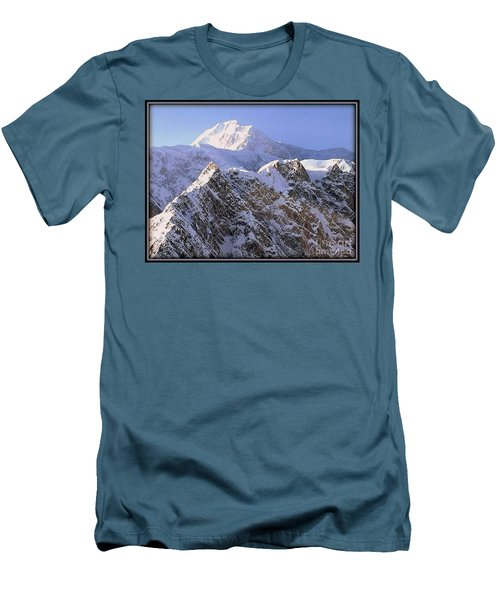 Men's T-Shirt (Athletic Fit) featuring the photograph Mc Kinley Peak by James Lanigan Thompson MFA