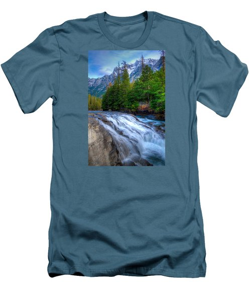 Mcdonald Creek Men's T-Shirt (Athletic Fit)