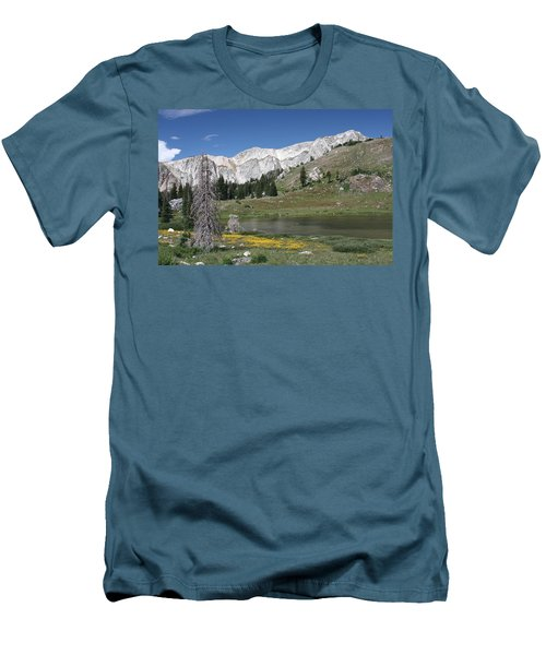 Medicine Bow Peak Men's T-Shirt (Athletic Fit)